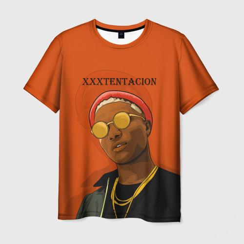 Мужская футболка 3D XXXtentacion  KING