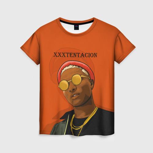 Женская футболка 3D XXXtentacion  KING