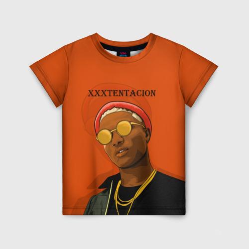 Детская футболка 3D XXXtentacion  KING