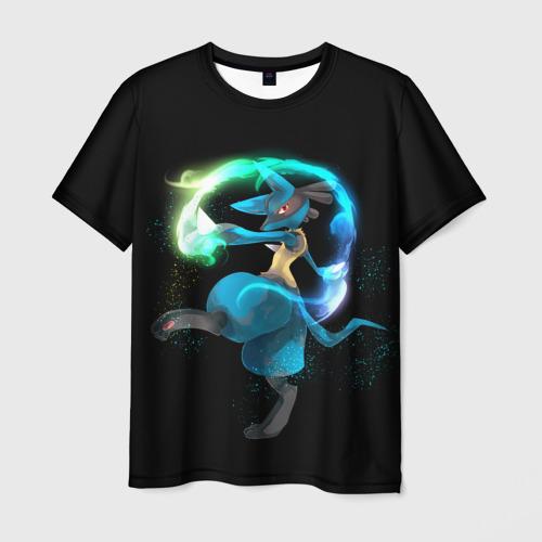 Мужская футболка 3D Pokemon art