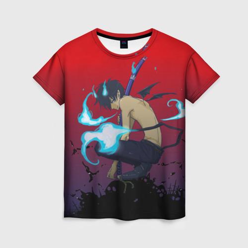 Женская футболка 3D Окамура Рин
