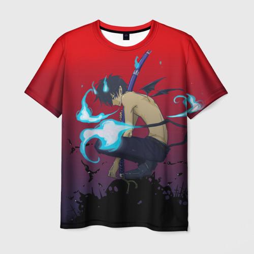 Мужская футболка 3D Окамура Рин