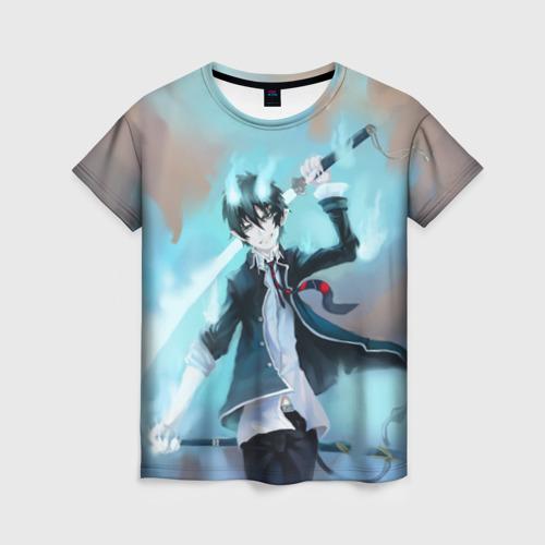 Женская футболка 3D Rin Okumura