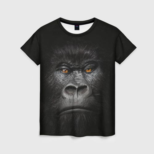 Женская футболка 3D Горилла 3D