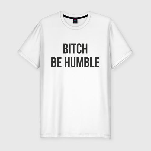 Мужская футболка премиум Be Humble