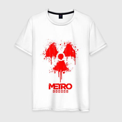 Мужская футболка хлопок Metro Exodus