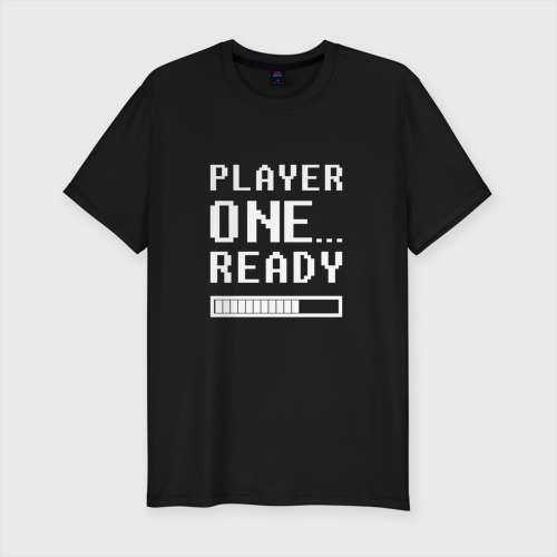 Мужская футболка хлопок Slim Ready Player One
