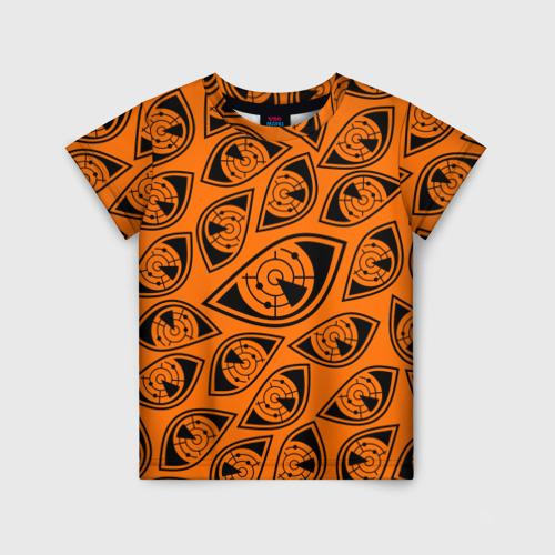Детская футболка 3D ГЛАЗА ПУЛЬСА