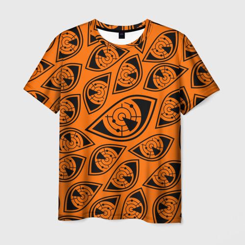 Мужская футболка 3D ГЛАЗА ПУЛЬСА