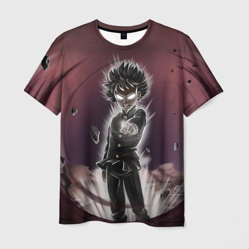 Мужская футболка 3D Mob Psycho 100