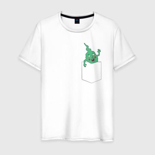 Мужская футболка хлопок Mob Psycho 100