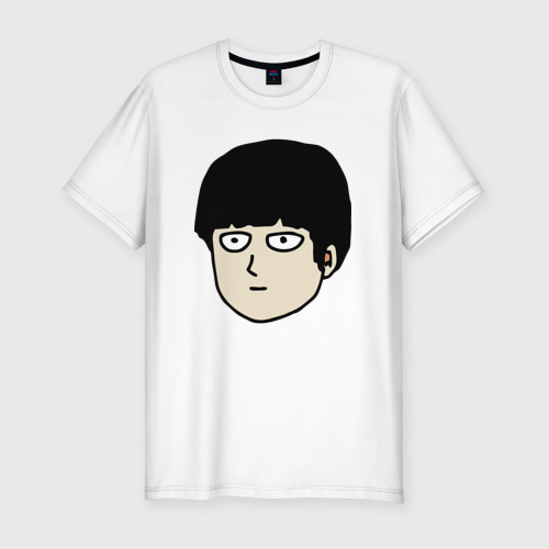 Мужская футболка хлопок Slim Моб