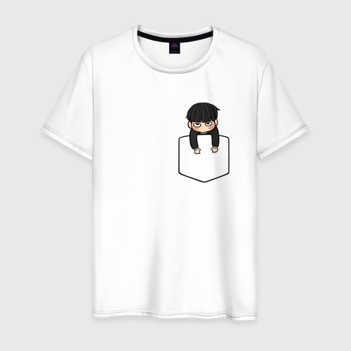 Мужская футболка хлопок Моб в кармане