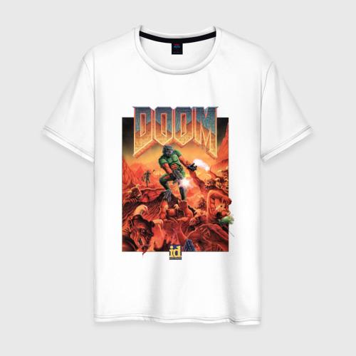 Мужская футболка хлопок DOOM