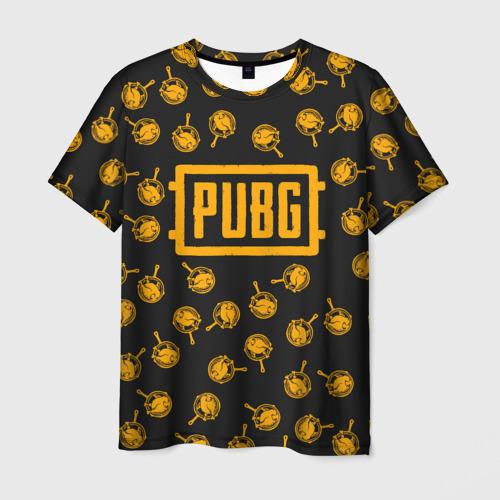 Мужская футболка 3D PUBG CHIKEN | ПАБГ КУРИЦА