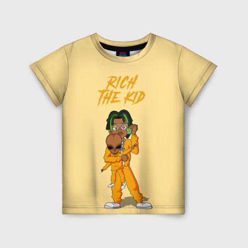 Детская футболка 3D Rich The Kid