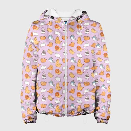 Женская куртка 3D Pusheen zoo