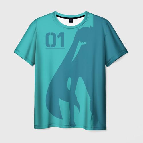 Мужская футболка 3D Хацуне Мику 01
