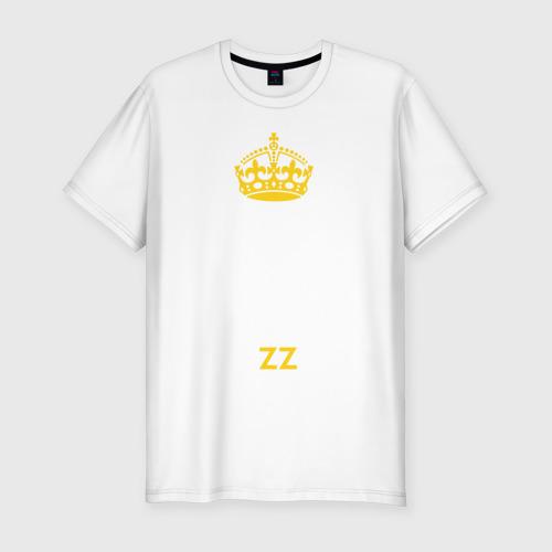 Мужская футболка хлопок Slim KEEP CALM AND USE BRAZZERS
