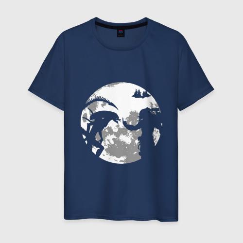 Мужская футболка хлопок Чужой и Хищник