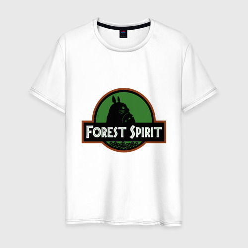 Мужская футболка хлопок Дух леса