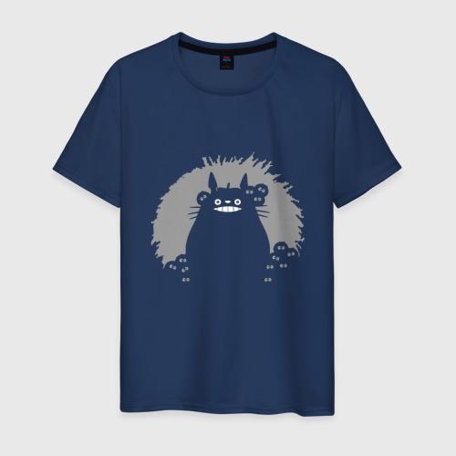 Мужская футболка хлопок Тоторо Тень