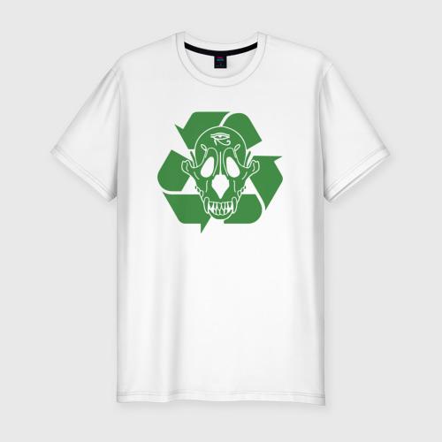 Мужская футболка хлопок Slim Экология