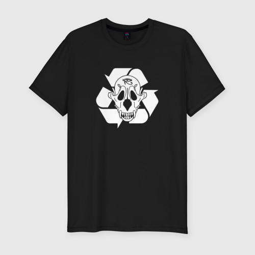 Мужская футболка хлопок Slim PHARAOH ecology
