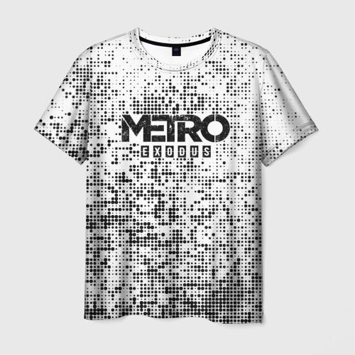 Мужская футболка 3D METRO: Exodus