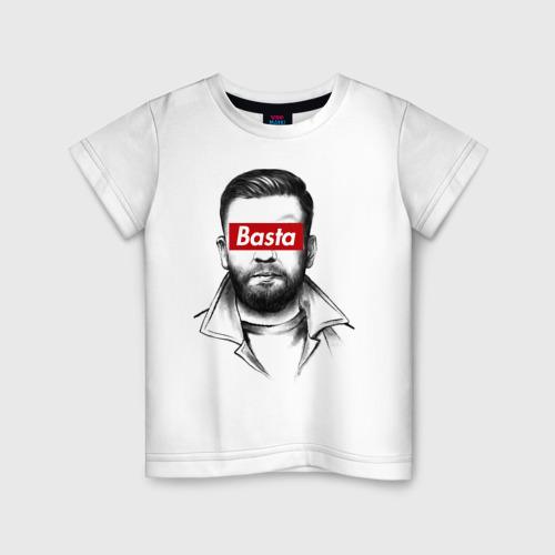 Детская футболка хлопок Basta