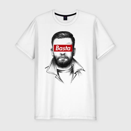 Мужская футболка хлопок Slim Basta