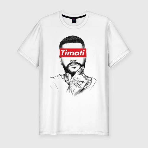 Мужская футболка хлопок Slim Timati