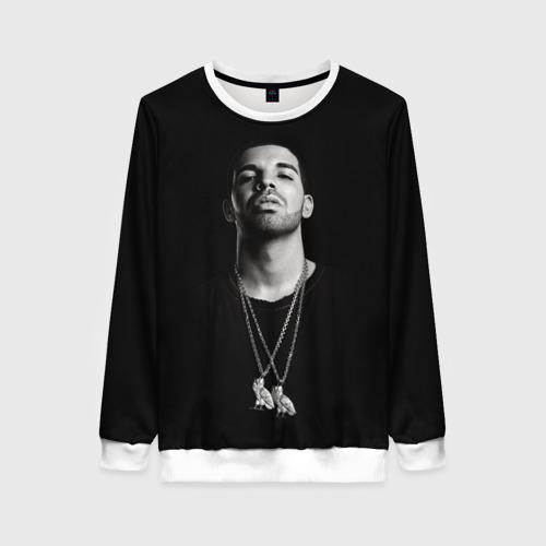 Женский свитшот 3D Drake