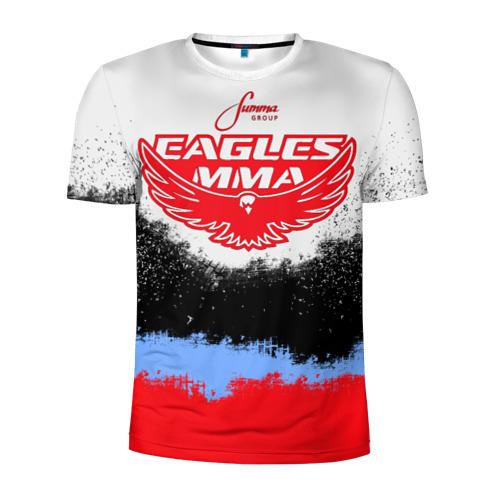 Мужская футболка 3D спортивная Eagles MMA