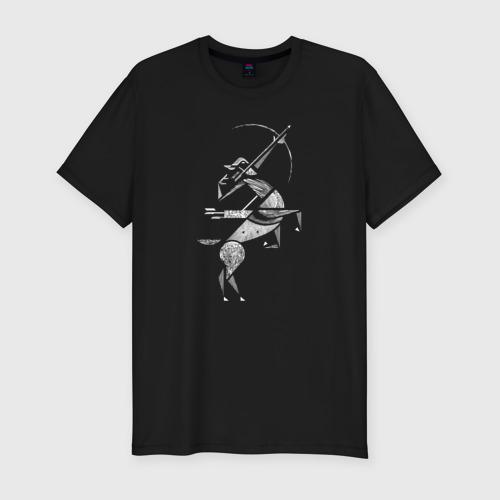 Мужская футболка хлопок Slim Стрелец