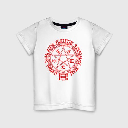 Детская футболка хлопок Alucard Pentagram