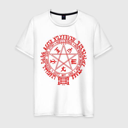 Мужская футболка хлопок Alucard Pentagram