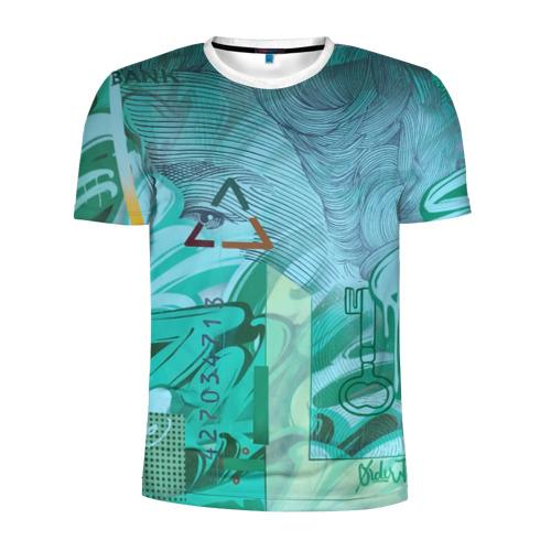 Мужская футболка 3D спортивная Euro