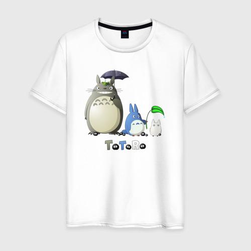 Мужская футболка хлопок Totoro