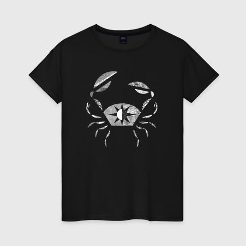 Женская футболка хлопок Рак