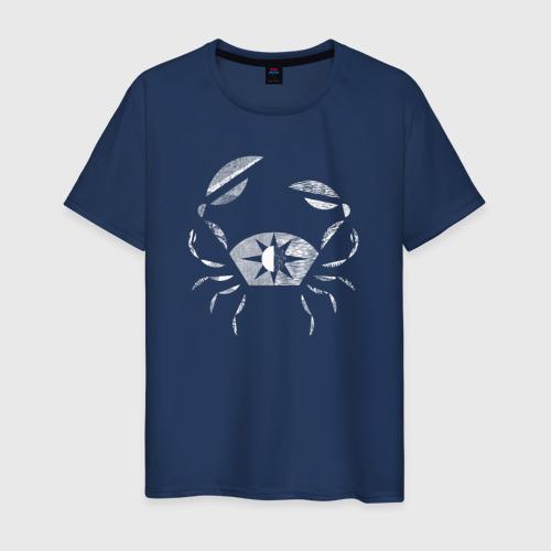 Мужская футболка хлопок Рак