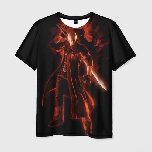 Мужская футболка 3D Devil May Cry (Dante)