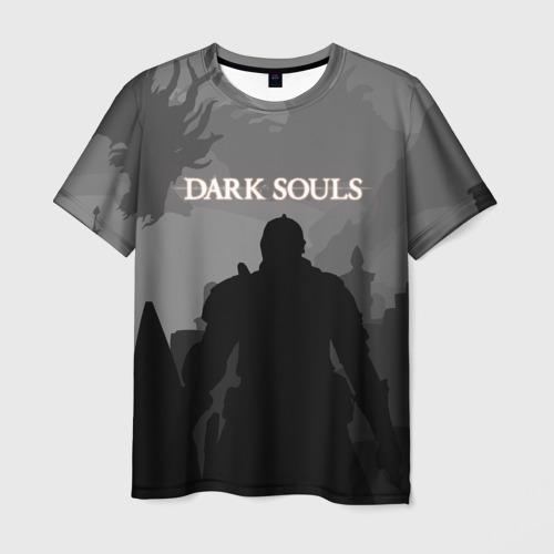 Мужская футболка 3D Dark Souls