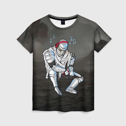 Женская футболка 3D Dark Souls