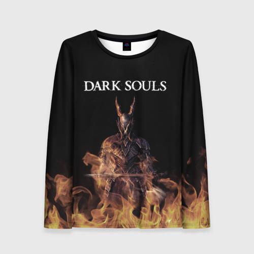 Женский лонгслив 3D Dark Souls
