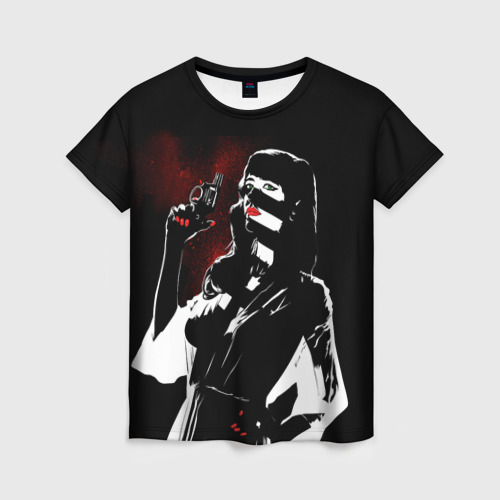 Женская футболка 3D Sin City - Ava Lord