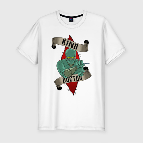 Мужская футболка хлопок Slim Добрый Доктор