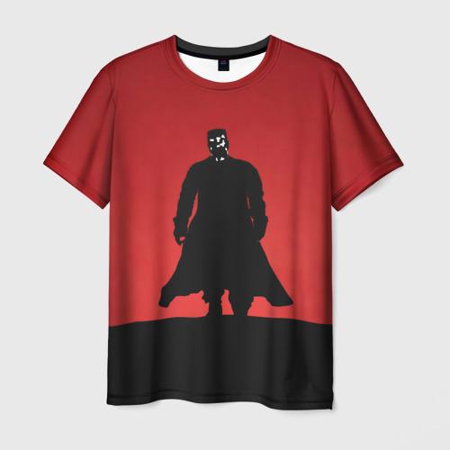 Мужская футболка 3D Город грехов - Марв