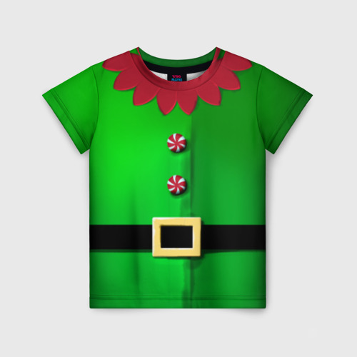 Детская футболка 3D Костюм эльфа