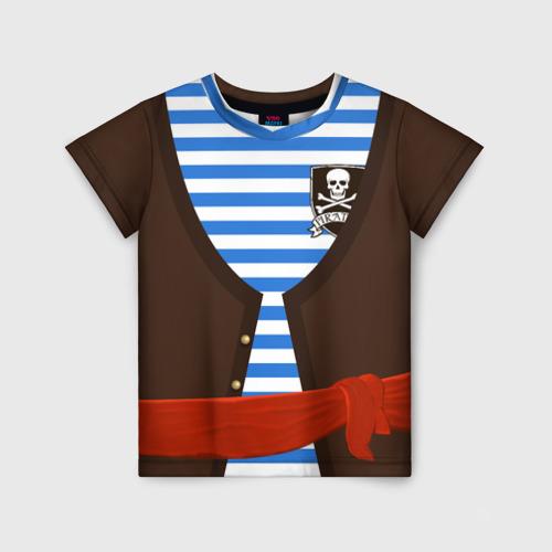 Детская футболка 3D Костюм пирата